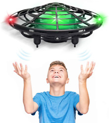 Hand Operated Drones for Kids Adults 5 Infrared Sensor Mini UFO Drone $21.75