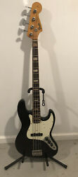 Fender 1968 Jazz Bass Refin Black With 66 67 Factory Appointments $5000.00