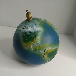 Hanging 6quot; Earth Globe Extremely Rare $19.90