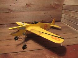 VINTAGE RARE Wood Built MODEL AIRPLANE With No Engine $179.99