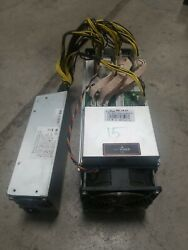 Antminer S9 15TH APW3 PSU 100A Bitcoin BITMAIN Miner Tested Tune Mod ASIC $675.00
