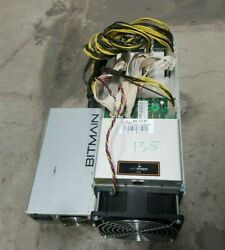 Antminer S9 13.5TH APW3 PSU 100A Bitcoin BITMAIN Miner Tested Tune Mod ASIC $625.00
