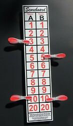 SCOREBOARD for Washers toss games other outdoor games Will score up to 30 $8.95