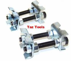 2 PCS MINI COIL SPRING COMPRESSOR ADJUSTABLE SPRING STRUTS SHOCKS ADJUSTER TOOL $9.39