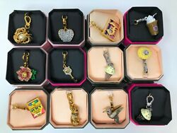 NEW IN BOX Juicy Couture Bracelet Charm - Pick Your Favorite Charms  ** HOT ** $35.00