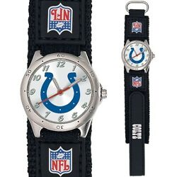 Indianapolis Colts Future Star Youth Kids Watch w Adjustable Band CLEARANCE $9.99
