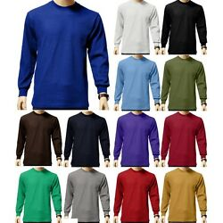New Mens HEAVYWEIGHT THERMAL TOP Long Sleeve Shirts Underwear Waffle Color Size