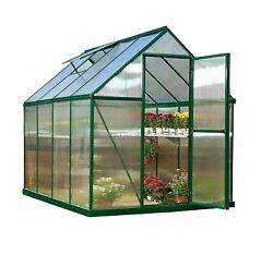 Palram 6' x 8' Mythos Hobby Greenhouse Kit - Green (HG5008G)