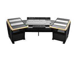 Sterling Modular Plan D Console for Digidesign C24 Red Oak Trim  Pro Audio LA