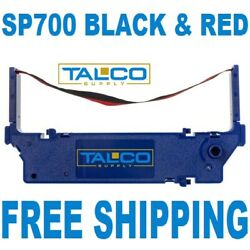 12 STAR SP 700 BLACK amp; RED INK PRINTER RIBBONS FAST FREE SHIPPING $24.99
