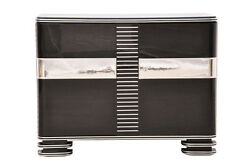 Beautiful Art Deco Chrome Chest Of Drawers