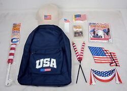 16 pc Patriotic Celebration Novelty Pack 4th of July Flag Day Memorial Day $24.95