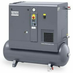 Atlas Copco GX4 5-HP 53-Gallon Rotary Screw Air Compressor w Dryer (208-230... $6,883.00