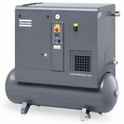 Atlas Copco GX4 5-HP 53-Gallon Rotary Screw Air Compressor w Dryer (230V 1-P... $6,883.00