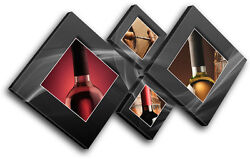 Wine Bottles Food Kitchen CANVAS WALL ART Picture Print VA $119.99