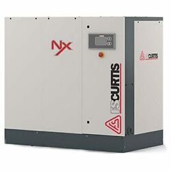 FS-Curtis NxB-11 15-HP Tankless Rotary Screw Air Compressor w iCommand-Touch...
