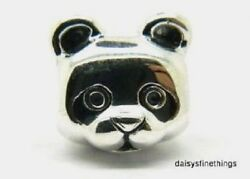 NWT  AUTHENTIC PANDORA SILVER CHARM PEACEFUL PANDA  #791745EN16  RETIRED