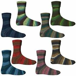 LUXURY PUR! Comfort Sock wool Morning gold with soft CASHMERE 4-threads