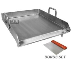 Stainless Steel Flat Top Comal Plancha 18