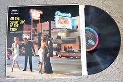 GEORGE SHEARING & Quintet Sunny Side Of The Strip Vintage LA Hollywood RECORD NM