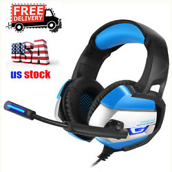 ONIKUMA K5 Stereo Gaming Headsets Headphones for PS4 New Xbox One PC w Mic Led