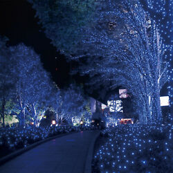 72ft Outdoor Indoor 200 LED Cool White Solar String Christmas Fairy Lights $16.08