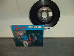 Survivor - High On You - 45 Record And Picture Sleeve 1984