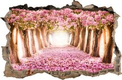 WALL STICKERS Hole in the wall Flowers Forest Sticker Vinyl Decal Decor Mural 44 $8.99