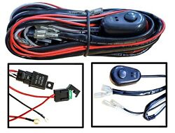 Light Wiring Harness relay switch offroad fog driving lamp led hid xenon truck  $11.85