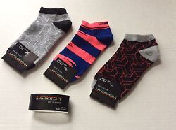 3 PAIRS BOYS NOVELTY NO SHOW SOCKS* BLACK GRAY * SIZE 6 8 * NWT $6.99
