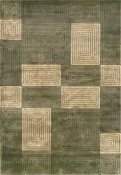 8'x11' Loloi Rug Floyd Wool Pile Olive Sage Hand Knotted Transitional Design