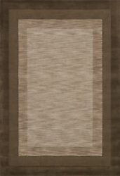 7'x11' Loloi Rug Hamilton Wool Pile Tobacco Hand Tufted Transitional HM-01