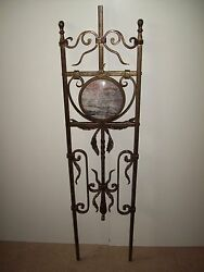 WROUGHT IRON STAIRS SPINDLES RAILING MARBLE ART WORK HANDCRAFTED 10Pc 40''x 10''