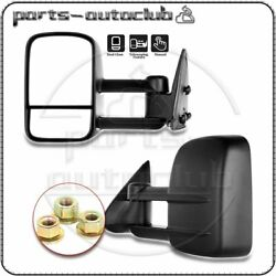 For 99-07 GMC Chevy Truck Mirrors Manual Towing Telescoping Door Side View Pair $62.99