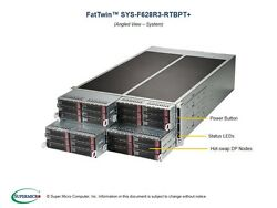 * USA SELLER* SuperMicro SYS-F627R3-RTB+ 4U SuperServer