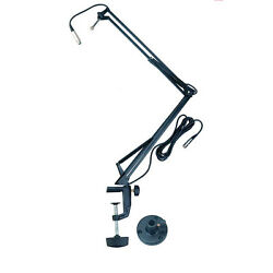 Quik Lok A 25 Microphone Desk Arm Wired Microphone Desk Boom Arm New $179.99