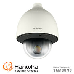 Samsung 1080p Full HD PoE+ 360 Compact PTZ WDR Network Dome Camera  SNP-6201H