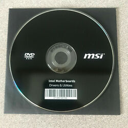 quot;NEWquot; MSI Intel X99 Chipset Motherboard Drivers Installation DVD C $20.00