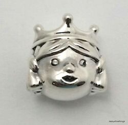 NWT AUTHENTIC PANDORA SILVER CHARM  PRECIOUS PRINCESS  #791960