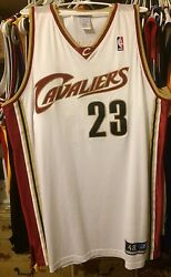 LeBron James Authentic Nba Jersey Cleveland Cavaliers Cavs 48 Home Smith Love