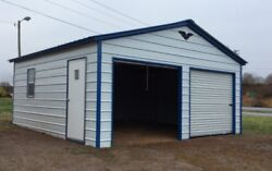 Metal Garage Carport Workshop 24x31x9 Metal Building FREE DELIVERY SETUP