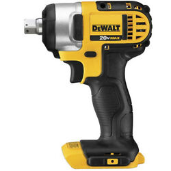 DEWALT 20V MAX Cordless Li Ion 1 2 in. Impact Wrench DCF880B New Tool Only $116.99