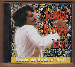 JAMES BROWN cd Roots Of Rock n Roll Live Columbia River NEW Sealed 723723160225