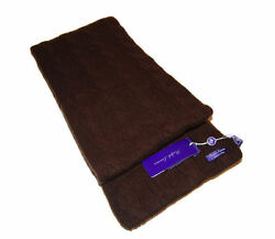 Polo Ralph Lauren Purple Label Mens Women Brown Cable Scarf Cashmere Italy