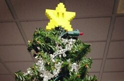 Mario Star Christmas Tree Topper quot;Yellow Onlyquot; $14.06