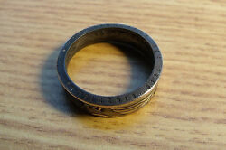 MENS RINGS SIZE 9 GERMAN ReichMark PRE 1939 SILVER REICHMARKS SILVER COIN RING $89.00