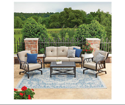 Patio Furniture Sets Clearance Modern Outdoor Table And Rocking Chairs Deck
