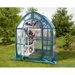 Flowerhouse Portable Pop up Plant Greenhouse 5 Ft x 5 Ft Clear Floorless