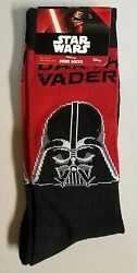 STAR WARS socks quot;Darth Vaderquot; Size 10 13 Shoe size 6 12.5 $5.00
