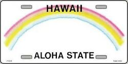 Hawaii Novelty State Background Blank Metal License Plate $12.49